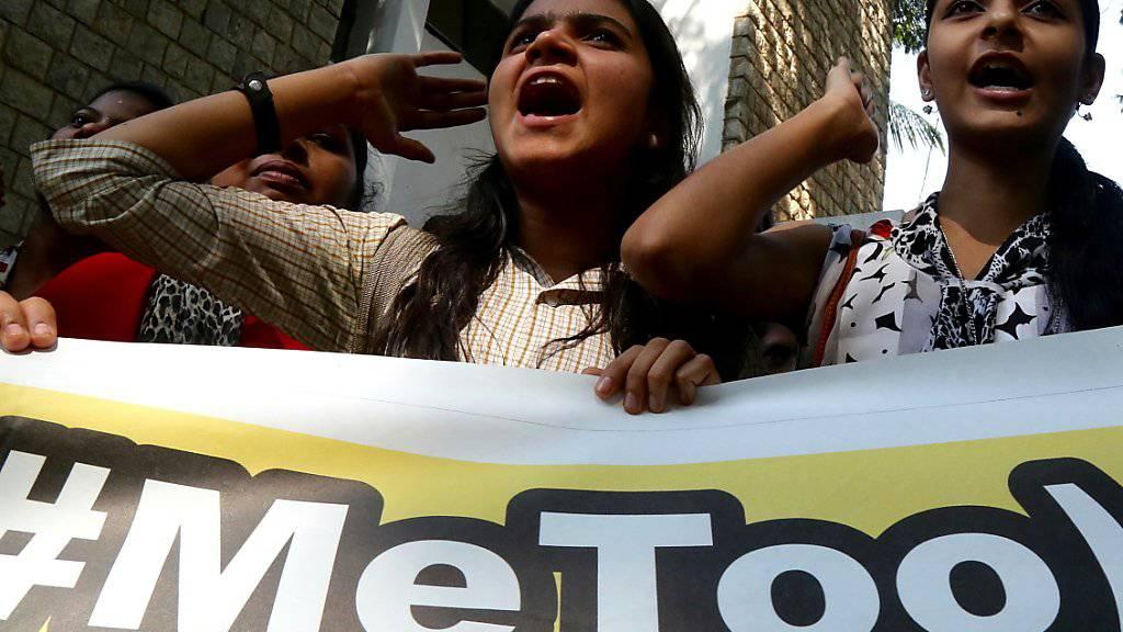 Die Uno-Resolution enthält direkte Bezüge zum Kampf gegen sexuelle Belästigung. Sie stellt somit eine Antwort auf die «#MeToo»-Bewegung gegen die Belästigung und Diskriminierung von Frauen dar. (Archiv)