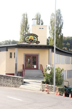 Ein Gebäude von Burger Söhne auf der Burg