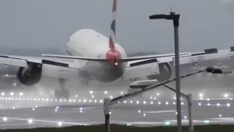 Sturm Sabine stellt die Piloten in Europa vor Herausforderungen.