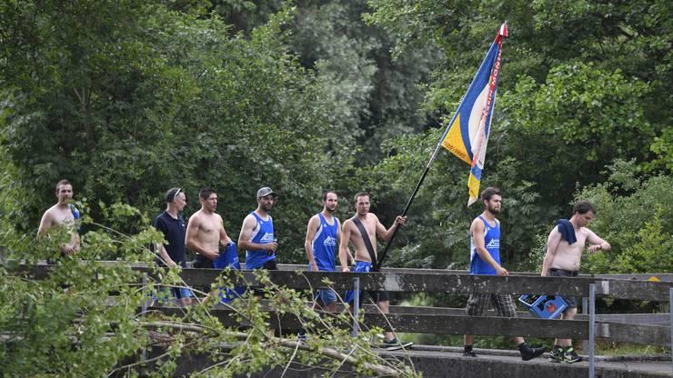 Das Kantonalturnfest in Muri ging in die entscheidende Phase.
