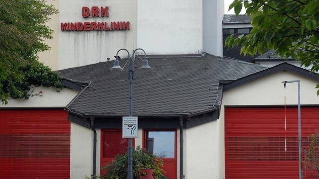 Zufahrt zur Kinderklinik in Siegen