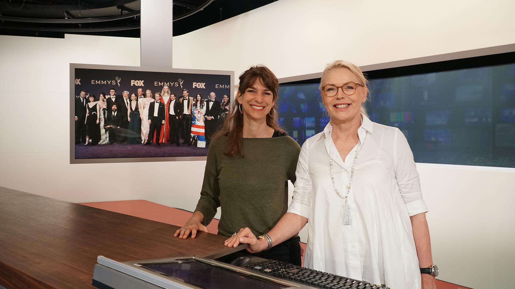Sharon Zucker mit Katja Stauber