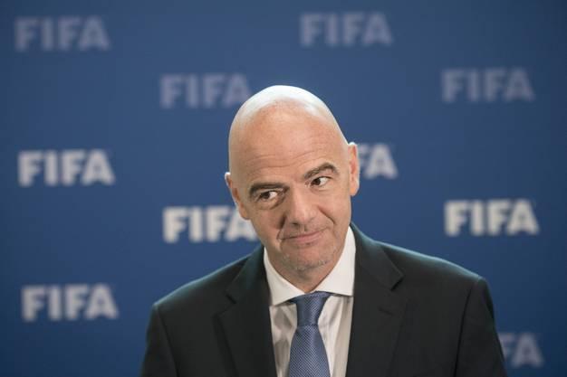 Sieht sich selbst als transparenter Saubermann: Fifa-Präsident Gianni Infantino.