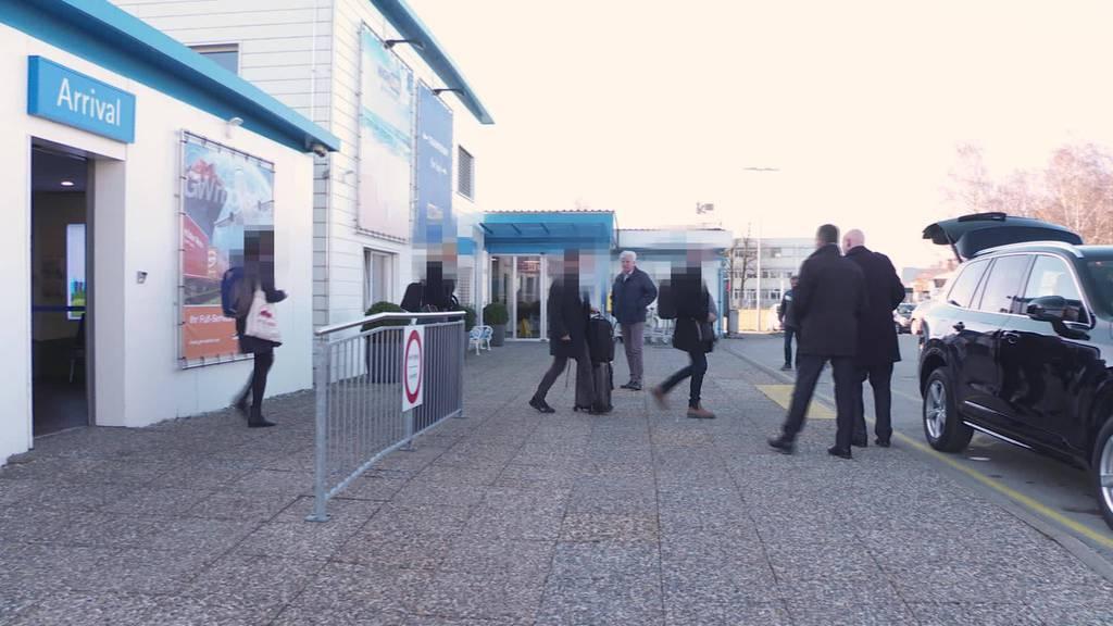 Hiobsbotschaft: Altenrhein leidet unter WEF-Verschiebung