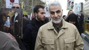 Ghassem Soleimani wurde bei einem US-Raketenangriff getötet.