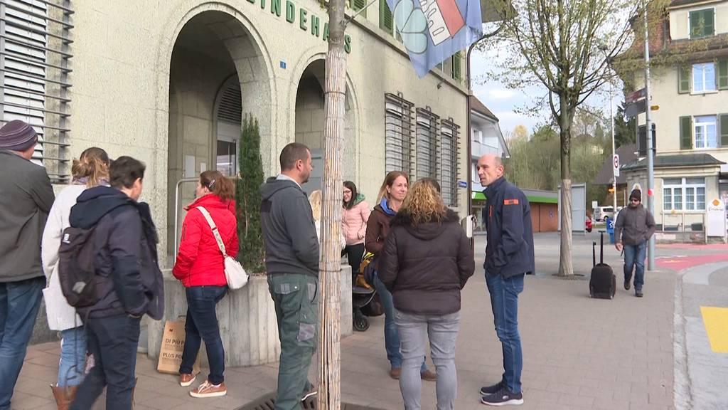 Gemeinde Kirchberg: Eltern protestieren gegen wöchentliche Massentests an Schulen