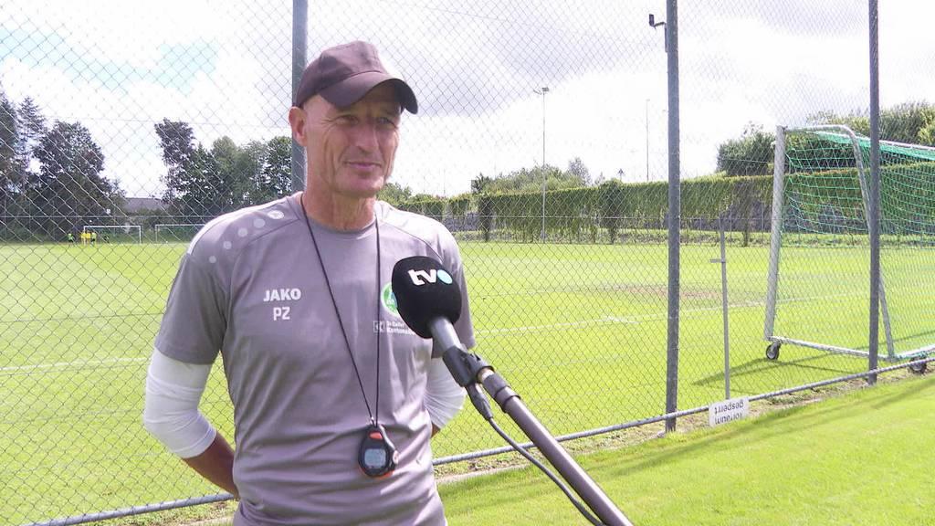 Vor dem ersten Spiel: Trainer Peter Zeidler im Interview