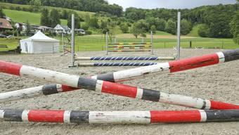 Der Reitplatz in Tenniken ist zu klein und wird deshalb von sportlich ambitionierten Reitern gemieden.
