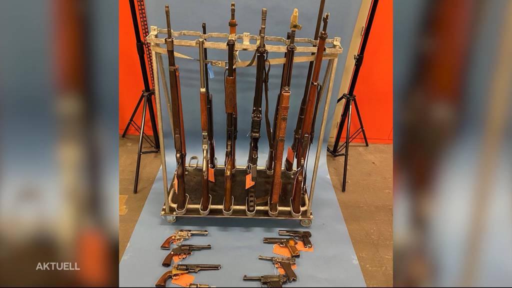 Dafür wurden die in Oftringen gefundenen Waffen eingesetzt