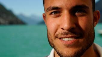 Fausto Santini ist im Intro des Schweizer Fernsehens vor den Olympia-Übertragungen zu sehen.