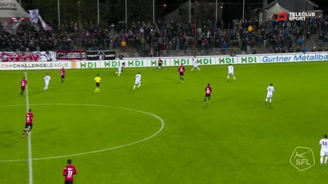 Challenge League 2018/19, Runde 12, FC Aarau - FC Wil, 1:0 von Stefan Maierhofer (Assist: Linus Obexer)