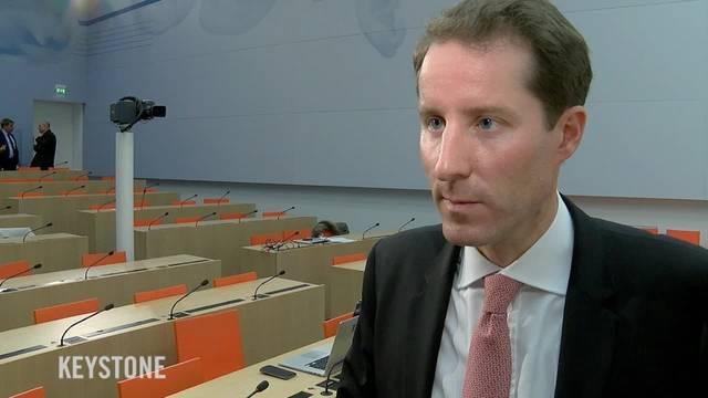 SVP-Bundesratskandidat Thomas Aeschi gilt nicht als Favorit