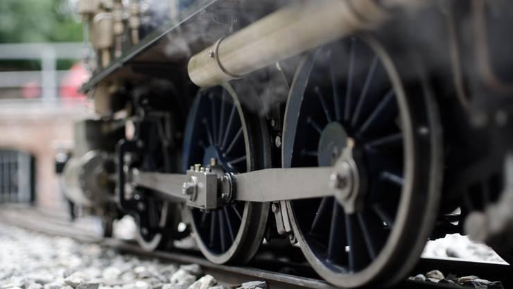Auf der Gartenbahn Staufen werden wir unsere Mittagspause verbringen – die Mini-Züge stehen uns zur freien Verfügung.