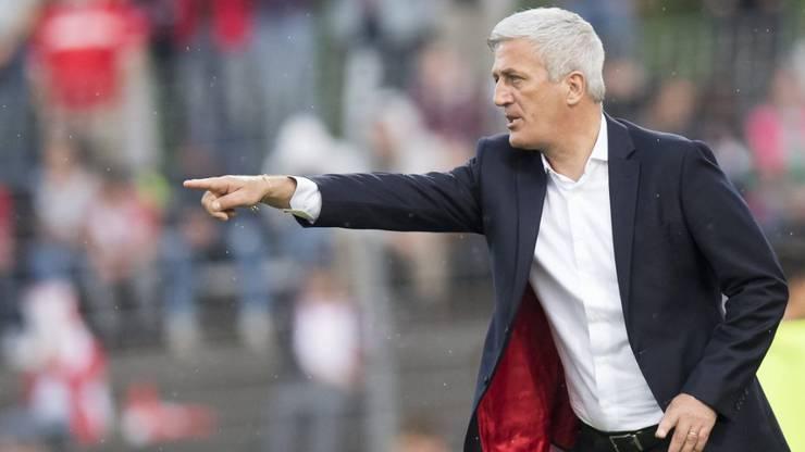 Vladimir Petkovic ist gefordert. Scheidet die Schweiz in der Vorrunde aus, sollte er zurücktreten.