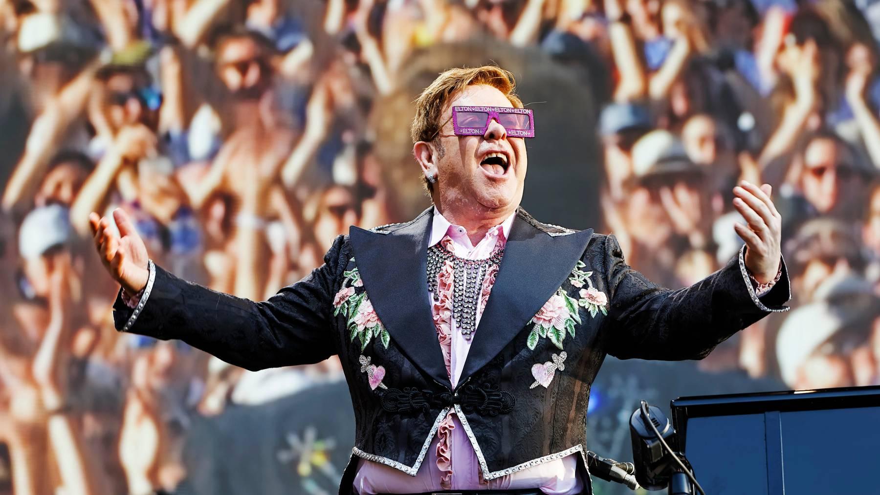 Findet dieses Jahr nicht statt: Das Montreux Jazz Festival – letztes Jahr unter anderem besucht von Elton John auf seiner Abschiedstour.