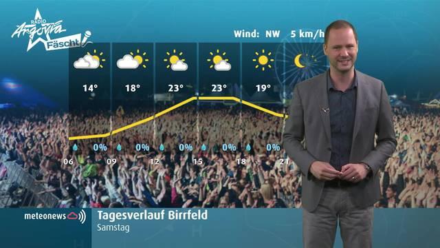 Tolle Wetteraussichten für die #partyvomjahr