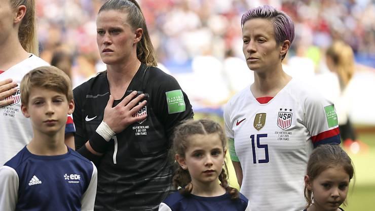 Die amerikanischen Spielerinnen kämpfen um mehr Lohn