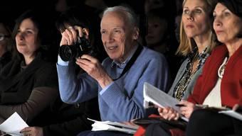 Die Arbeiten des unlängst verstorbenen US-Modefotografen Bill Cunningham wurden in New York mit einer Ausstellung geehrt. (Archivbild)