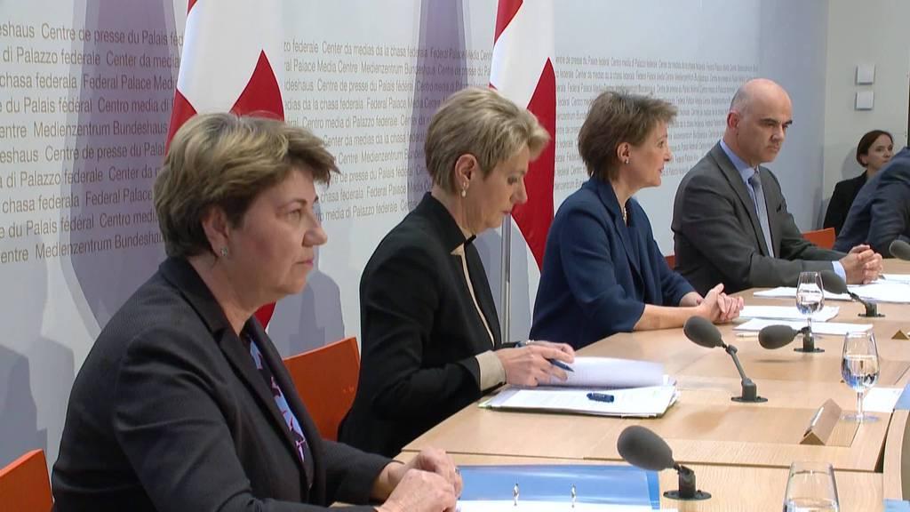Corona-Notrecht: Bundesrat soll Macht abgeben.
