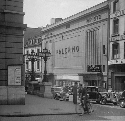 1928 konnte das Kino Palermo direkt gegenüber dem Basler Stadttheater eröffnen.