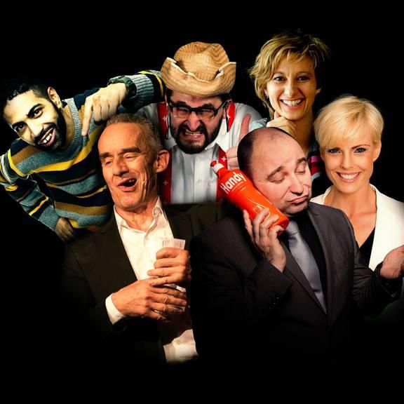Comedy Finale im KKL Luzern mit 6 Künstler
