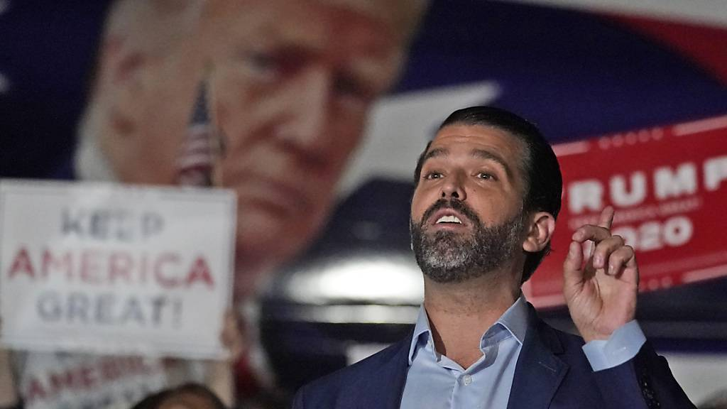 US-Medien: Trumps Sohn Donald positiv auf das Coronavirus getestet