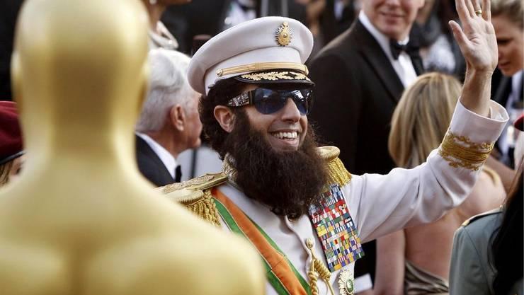So eroberte der «Diktator» den roten Teppich: