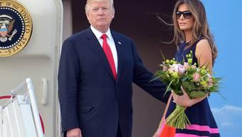 Die Gattin von US-Präsidenten Donald Trump, Melania, will ihren Mann zum G20-Gipfel nach Argentinien reisen. (Archivbild)
