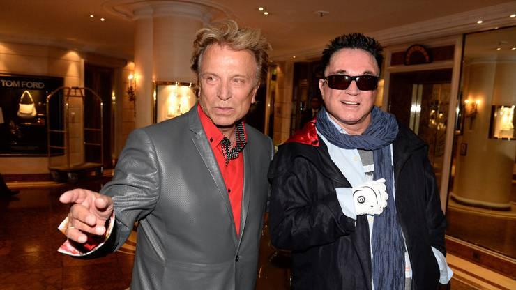 Siegfried und Roy im Jahr 2013