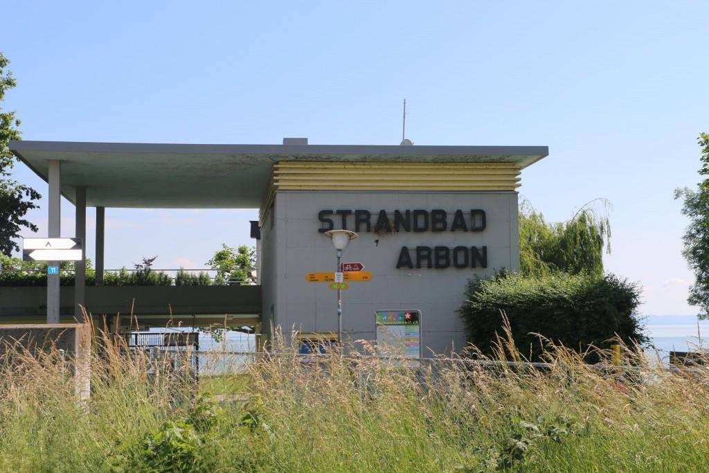 Strandbad Buchhorn in Arbon (© FM1Today/Nina Müller)