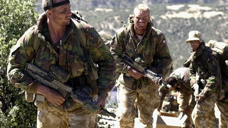 Britische Spezialeinheit in Afghanistan