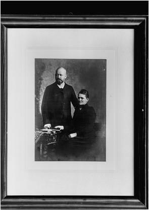 Mit ihnen fing alles an: Rudolf und Elise Schiesser, um 1890. Bild: Archiv Familie Schiesser