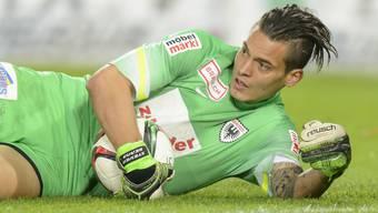 Souveräne Leistung im Tor des FC Aarau: Steven Deana