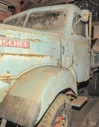 Der damals versunkene Henschel ist noch original erhalten.