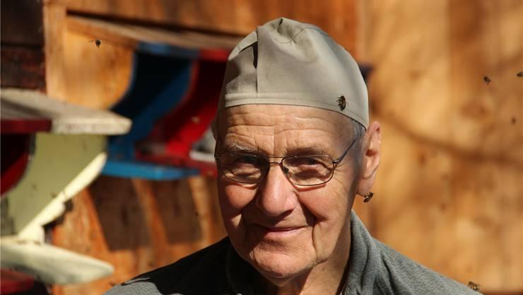 Kaspar Hummel, 80, ist fast sein ganzes Leben lang Imker.