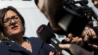 Die Verteidigerin Yaël Hayat (Bild) und ihr Kollege Loïc Parein fechten das Urteil gegen den im Tötungsdelikt Marie beschuldigten Mann an. (Archivbild)