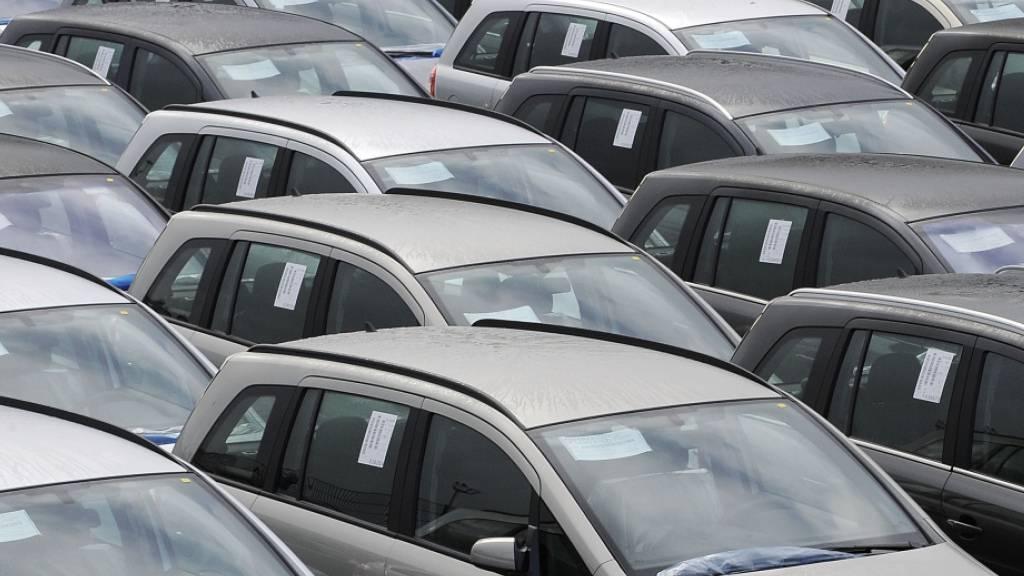 Der deutsche Automarkt schwächelt weiter. (Archiv)