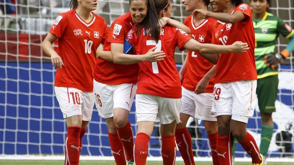 Der Blick des Schweizer Frauen-Nationalteams ist Richtung EM 2017 gerichtet