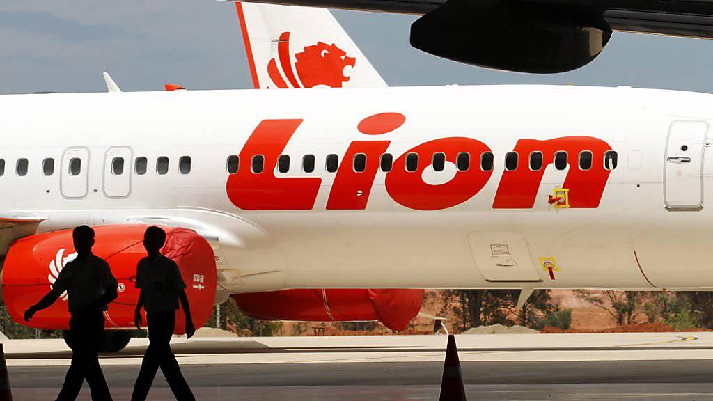 Am Donnerstag kam es erneut zu einem Zwischenfall mit einem Flugzeug des indonesischen Billigfliegers Lion Air. (Archivbild)