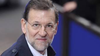 Mariano Rajoy freut sich über den Erfolg der Konservativen bei den Regionalwahlen in Spanien (Archiv)