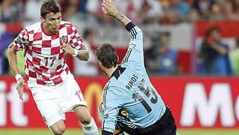 Mandzukic überzeugte die Bayern dank starkem Auftritt an der EM.