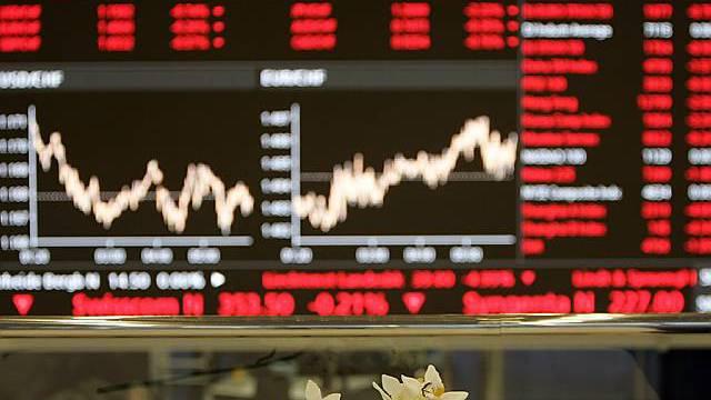 Schweizer Börse im Plus