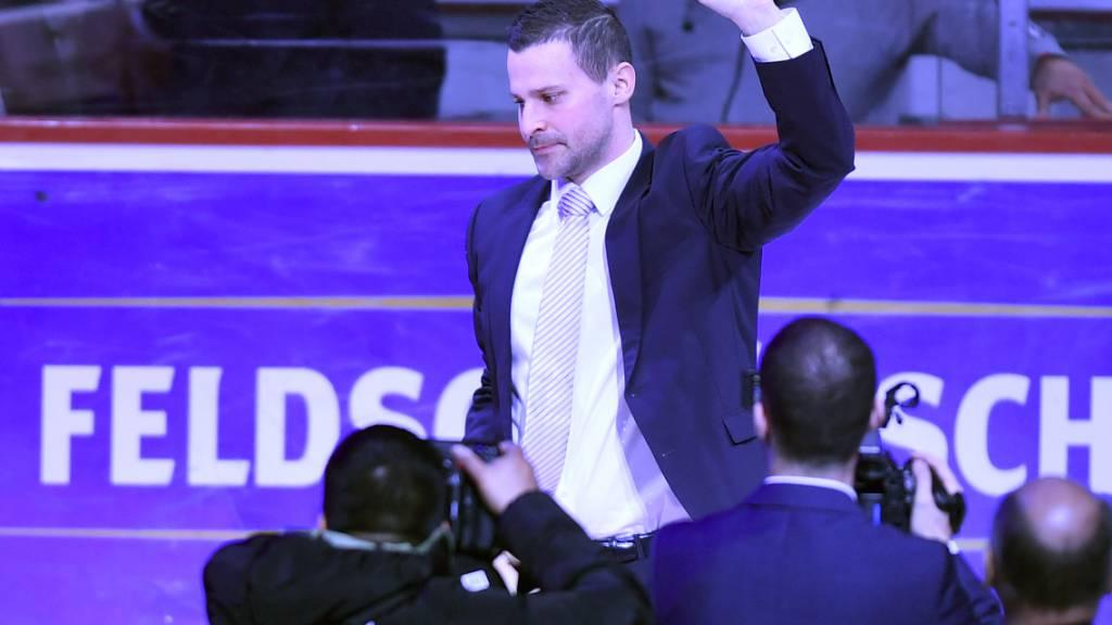 Patrik Bärtschi, hier bei der Verabschiedung beim ZSC, amtet künftig als Sportchef bei Kloten.