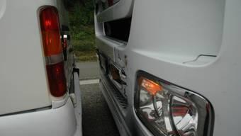 Die Auffahrkollision ereignete sich im stockenden Kolonnenverkehr. (Symbolbild)
