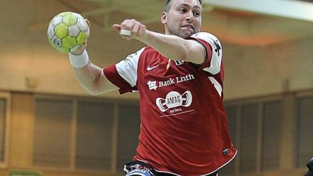 Marcel Hess mit acht Toren erfolgreichster Werfer bei Stäfa - Pfadi