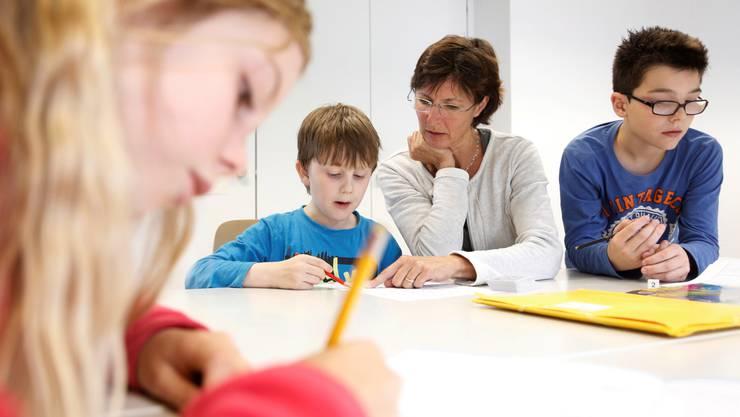 Auch Nachhilfelehrer müssen sich auf den Lehrplan 21 einstellen.
