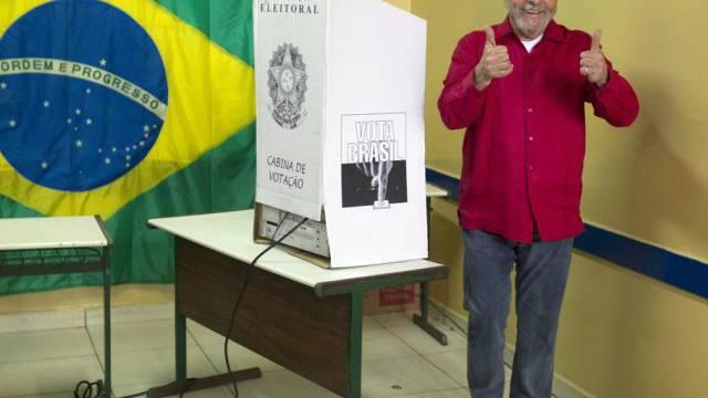 """Papa-Söhnchen"": Brasiliens Ex-Präsident Lula da Silva (Archiv)"
