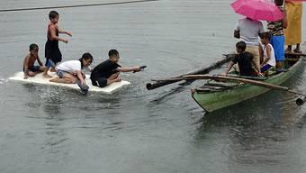 Heftige Unwetter haben auf den Philippinen gewütet.