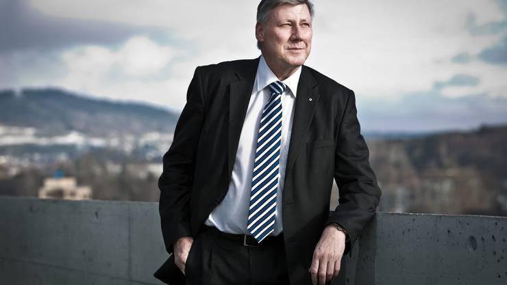 Adrian Leimgrübler, Bezirksratspräsident und Statthalter
