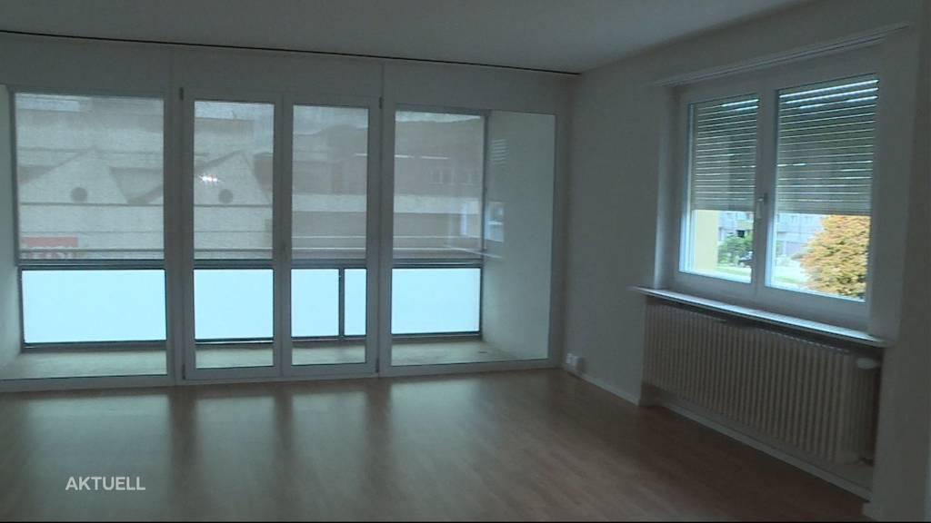 Spitzenreiter: Die meisten Wohnungen stehen im Kanton Solothurn leer